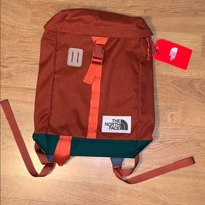 NWT The North Face Top Loader Daypack - Orange